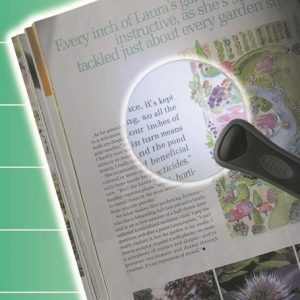 Illuminated Magnifier