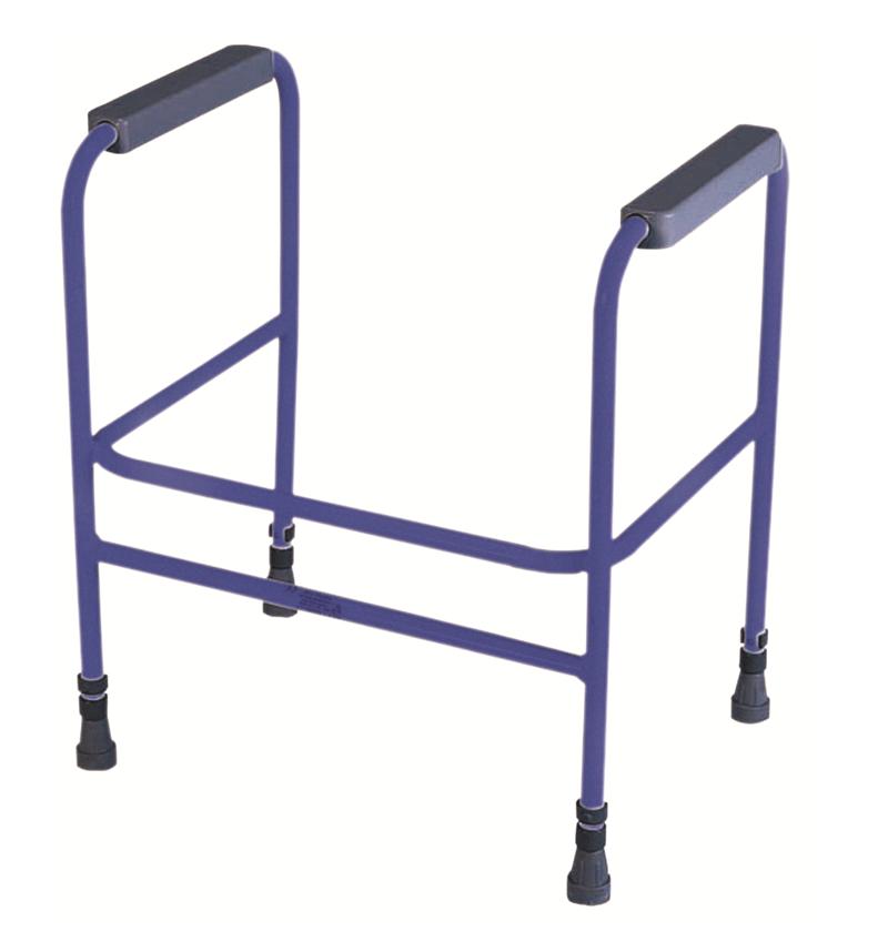Adjustable Toilet Surround - blue