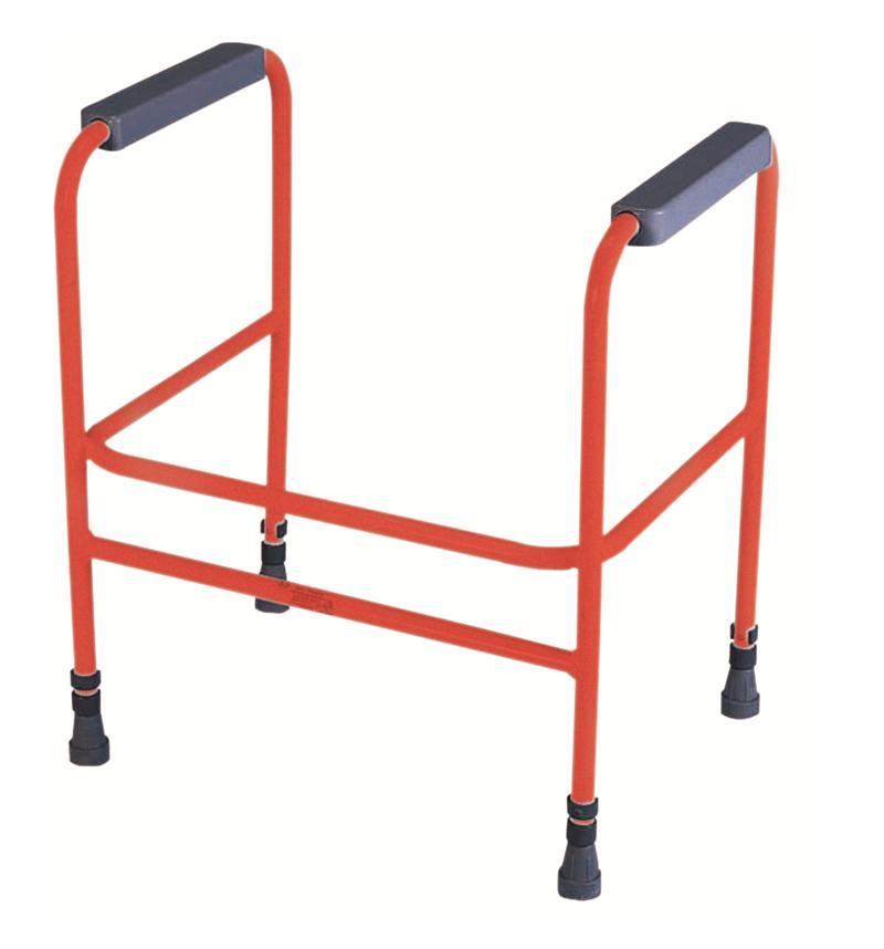 Adjustable Toilet Surround - red