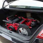 D09 wheelchair in car trunk