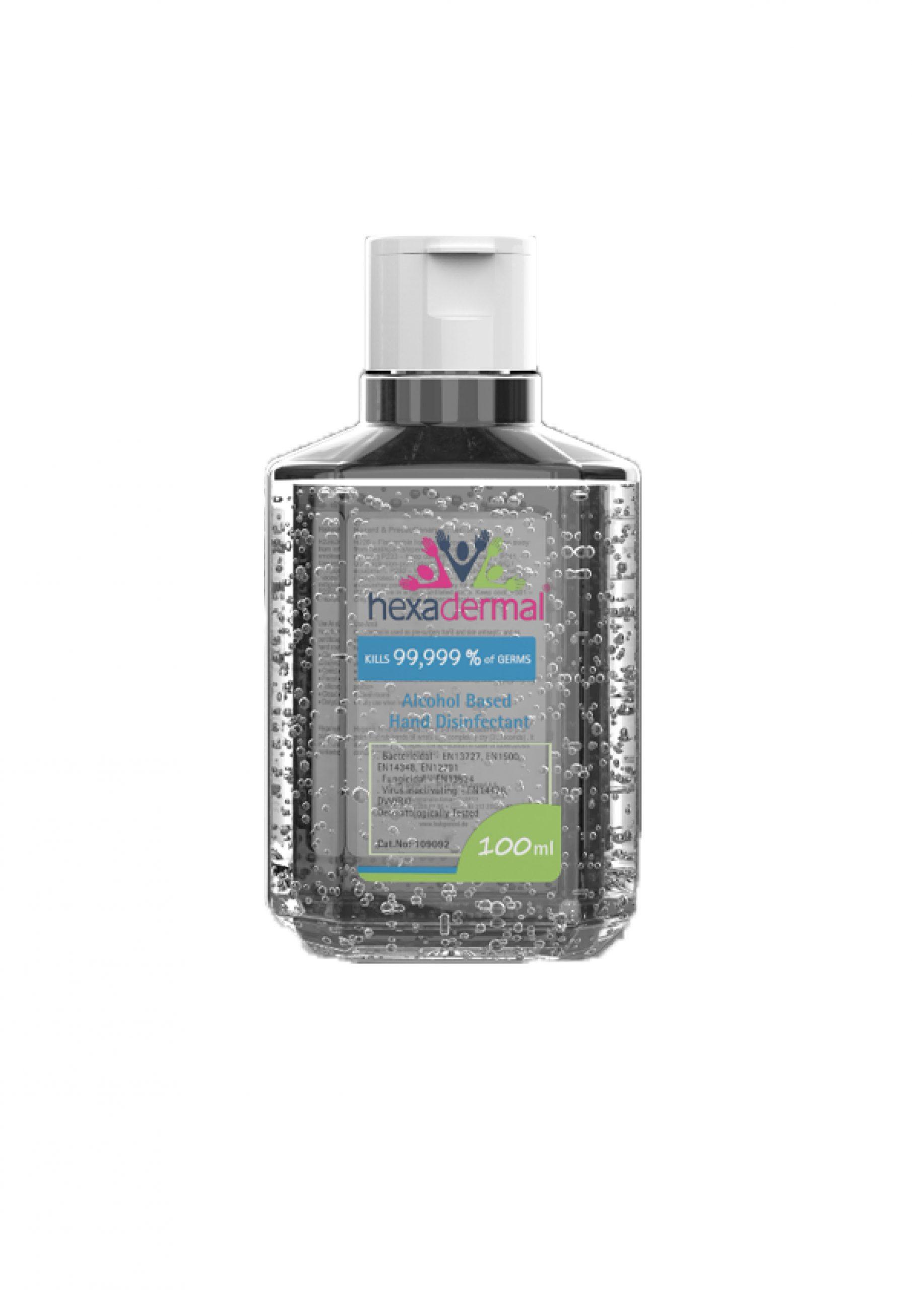 Hexadermal Alcohol Based Gel Hand Sanitizer