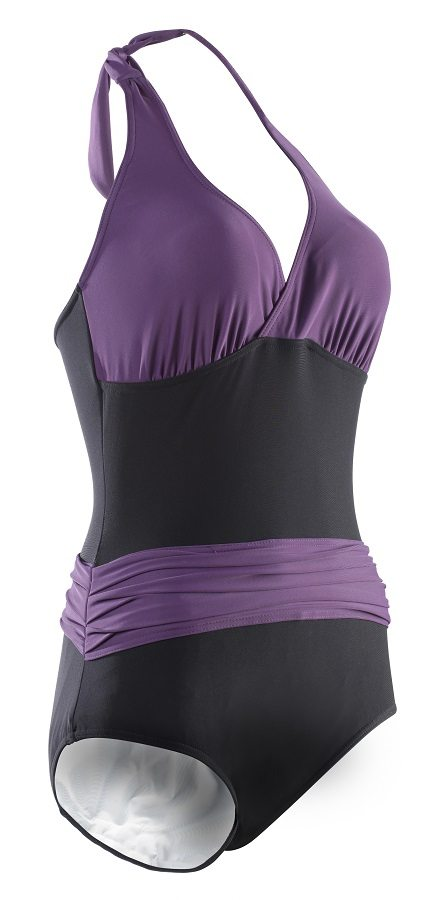 Incontinence Kes Vir Ladies Sash Swimsuit