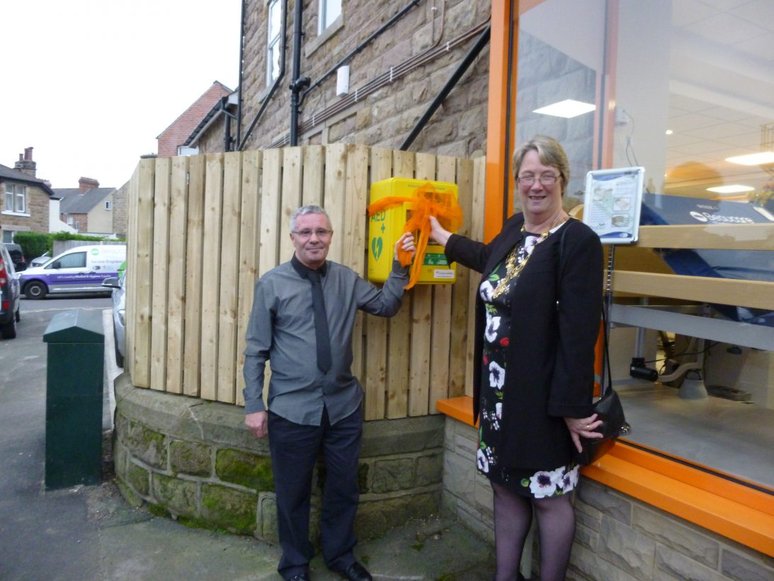 Kings Road Community Defibrillator