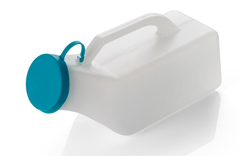 Topper Male Urinal Bottle With Lid
