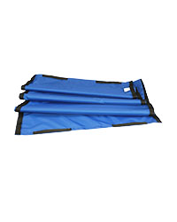 Flat slide sheet with handles