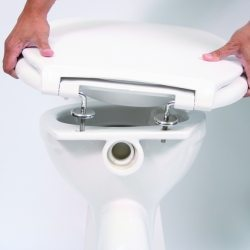 bariatric toilet seat installation