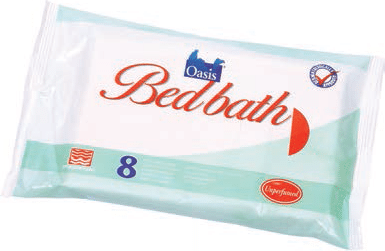 oasis bed bath system bed bath wipes