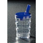 non spill cup with temperature regulated lid cold