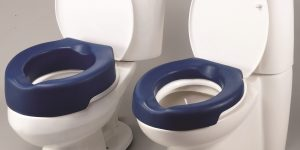 raised padded toilet seat