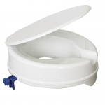 raised toilet seat with Lid 100mm
