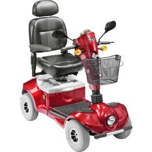 regatta mercury mobility scooter red