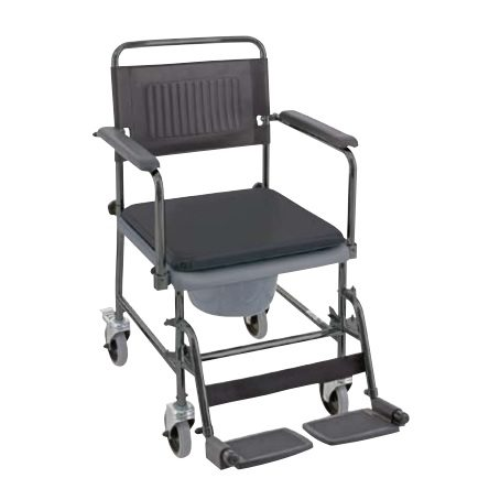 wheel chair commode sanichair