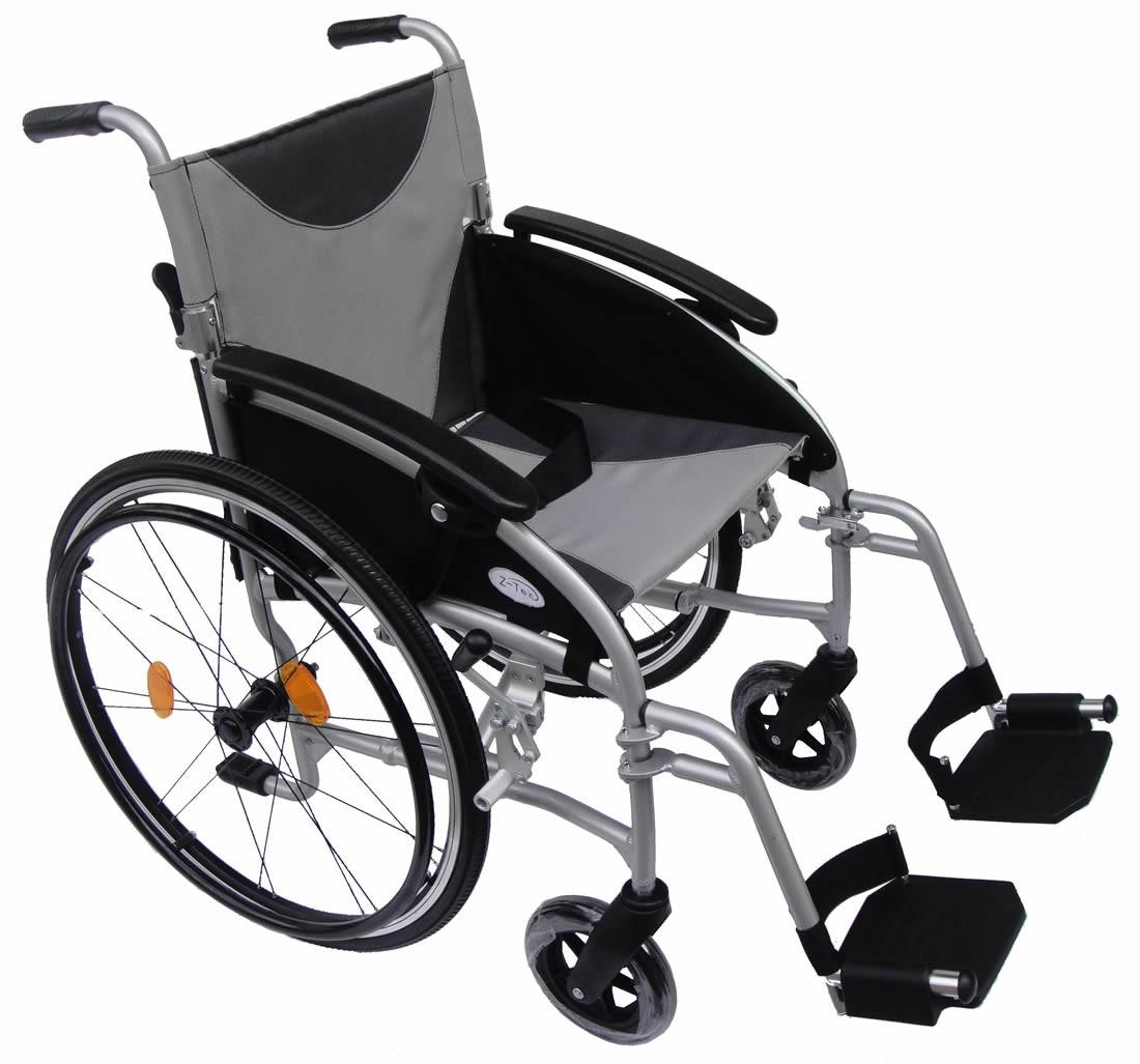 lightweight self propel wheelchair z-tech